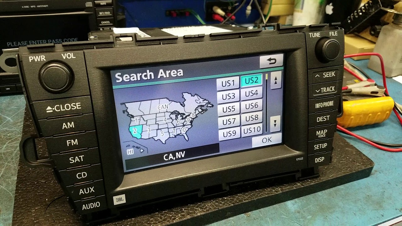 How to Reset Toyota Prius Navigation if it shows wrong location, 2010 & up