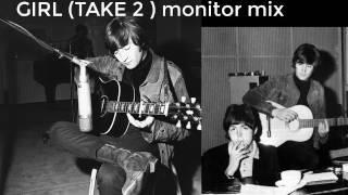 The Beatles : GIRL (MONITOR MIX) (RARE)
