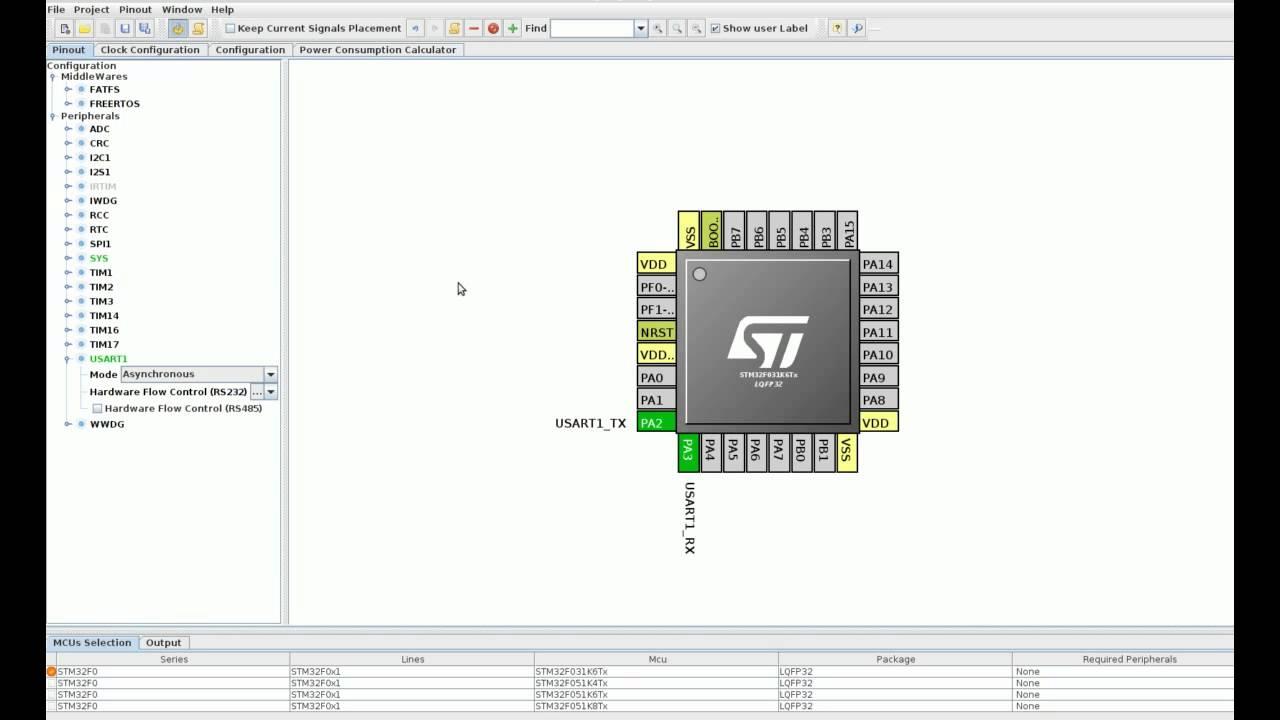 CubeMX and AC6 - STM32 UART