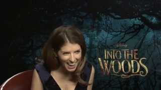 "Anna Kendrick: ""Chris Pine is a sneaky bastard"" - Into The Woods interview"