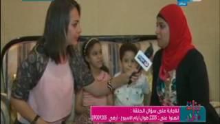 بنات وولاد : تسليم الجائزة للفائزة بسؤال الاسبوع الماضي