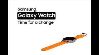 Samsung Galaxy Watch - Time for a change | Concept render