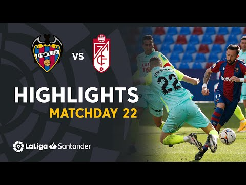 Levante Granada Goals And Highlights