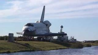 Space Shuttle Atlantis Towed From Runway After Landing On STS-129