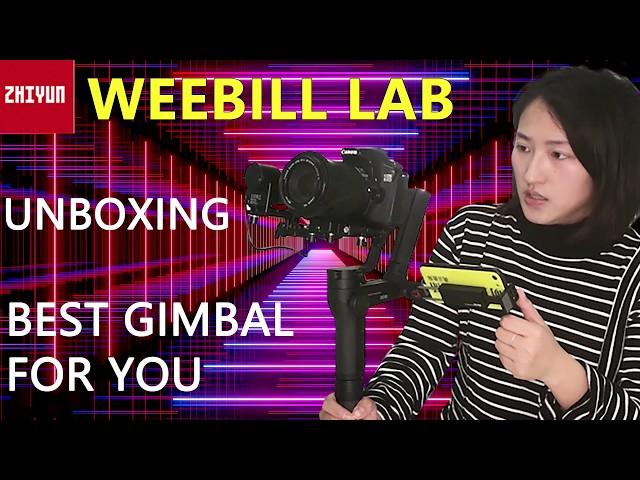 Unboxing | Zhiyun Weebill LAB  /?? ? PK Zhiyun Crane 3 DJI Ronin S