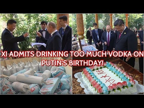 WOW! Putin Surprises China's Xi Jinping With Box Of Russian Ice Cream & Birthday Cake