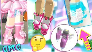 SPILLIN TEA on NEW SHOES coming to Royale High! Leaks & Updates