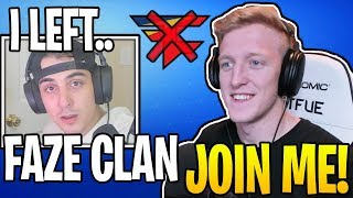 Streamers React To Cloak *LEAVING* FAZE To Join Tfue's NEW ORG! (RIP)
