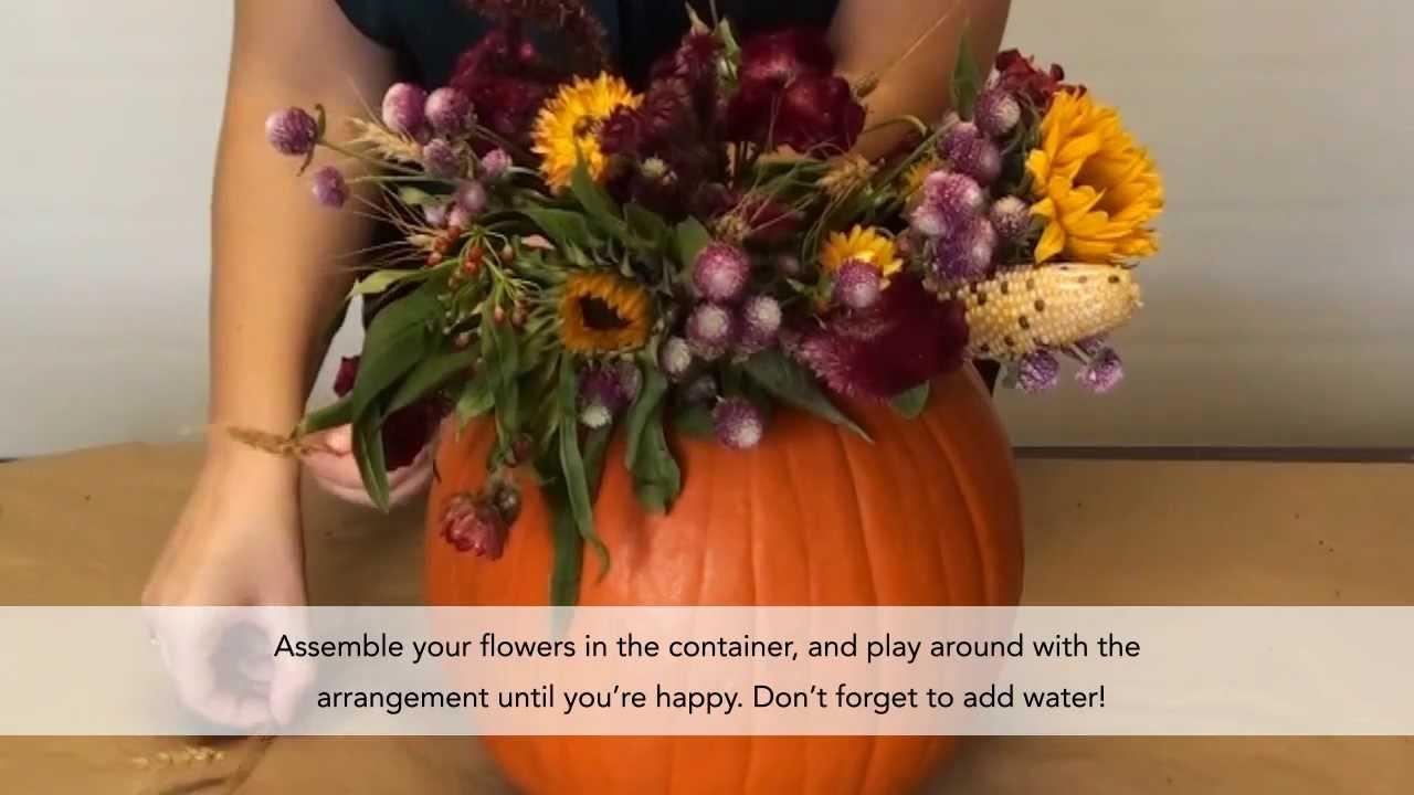 Diy Diaries Pumpkin Vase Decor Youtube