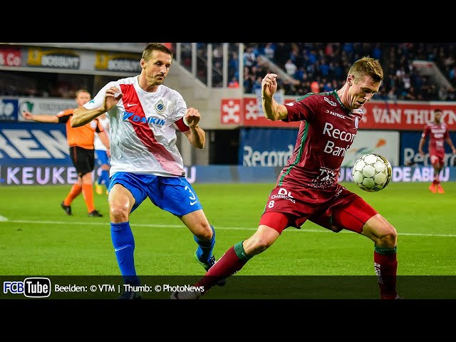 2016-2017 - Jupiler Pro League - 13. Zulte Waregem - Club Brugge 0-0