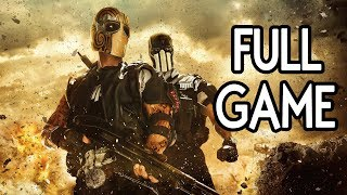 Army of Two The Devil's Cartel - FULL GAME Walkthrough Gameplay No Commentary