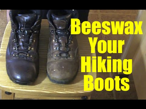 How to Beeswax Boots
