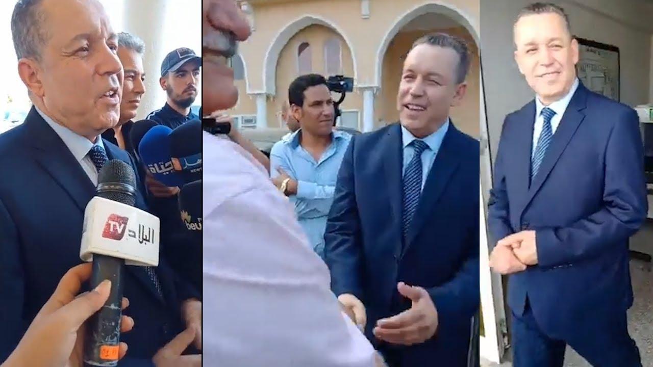 شاهدوا ماذا قال سليماني بخليلي في أول تصريح بعد سحبه استمارات الترشح لرئاسة الجزائر