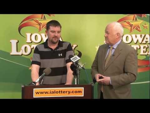 Meet the Iowa Lottery's Newest Multi-Millionaire!