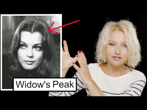 WIDOW'S PEAK hair tips!