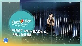 Sennek - A Matter Of Time - First Rehearsal - Belgium - Eurovision 2018