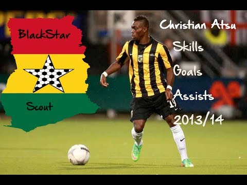 Christian Atsu - Vitesse 2013/14 - Skills-Goals-Assists