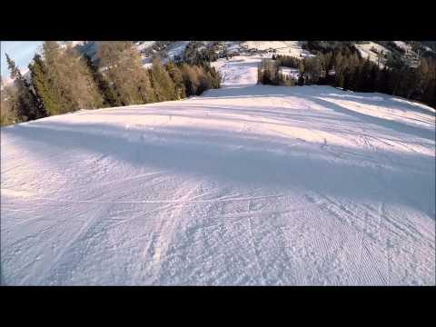 Piste da sci Carezza: pista nera Pra dei Tori