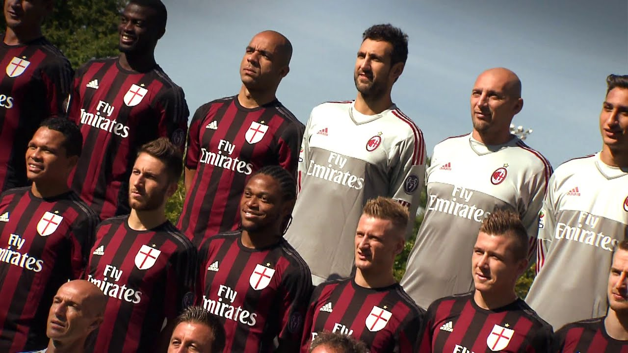Official team photo 201516 ac milan official youtube voltagebd Image collections