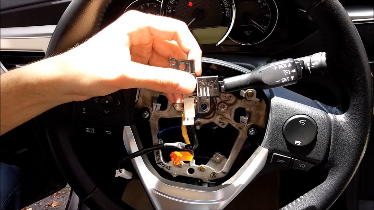 toyota corolla cruise control how to insert? (all details) - youtube