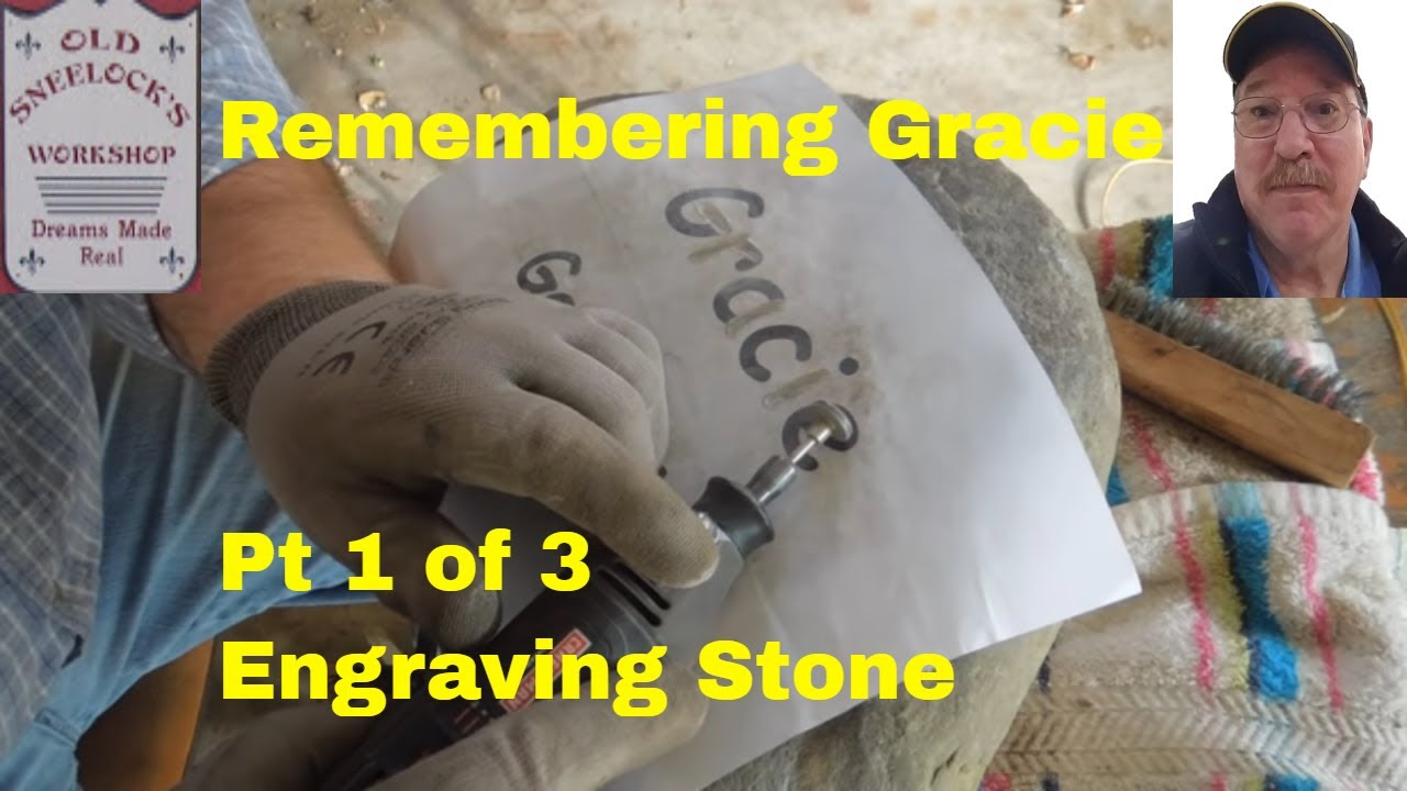How to Engrave Stone