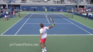 Tsitsipas v Ellis, 2016 US Open juniors round two, 4K