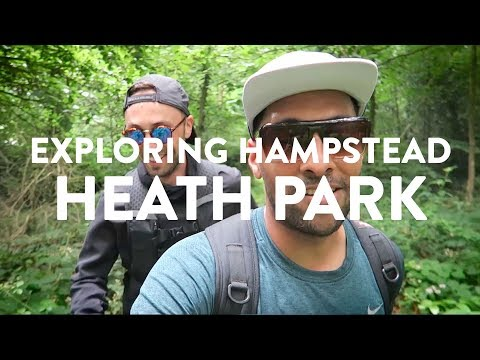 EXPLORING HAMPSTEAD HEATH PARK IN LONDON