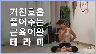 호흡이 거칠 때, 어깨통증이 올 때 풀어주는 근육이완 …