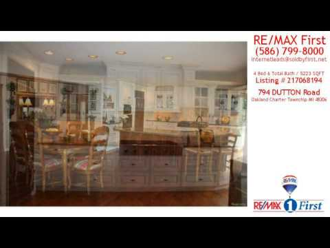 Home For Sale - 794 DUTTON Road, Oakland Charter Township