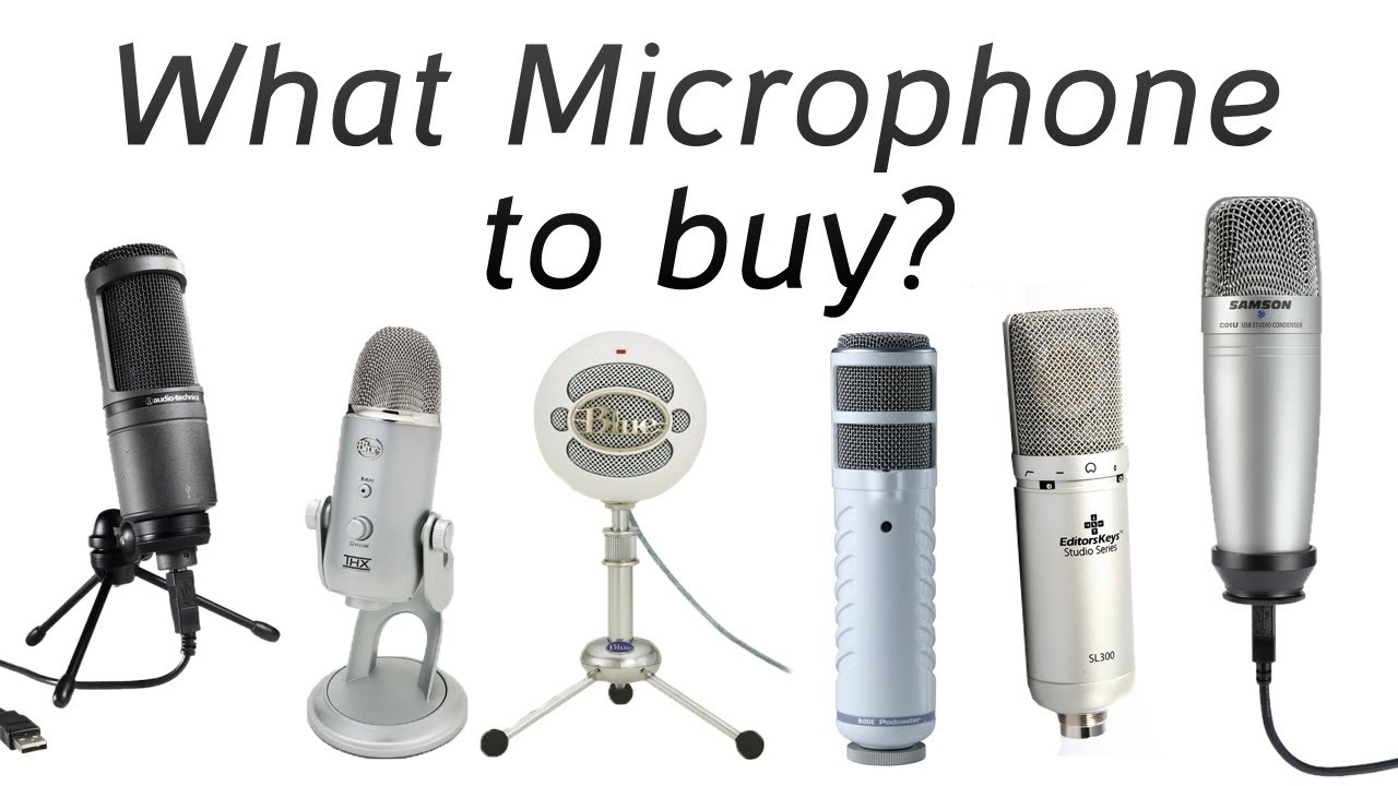 New Microphone - Which shall I buy? (Blue Yeti, AT2020 etc ...