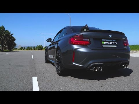 Adrenaline On Demand | BMW F87 M2 | Armytrix Turbo-Back Valvetronic Exhaust