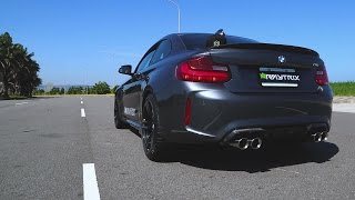 adrenaline on demand   bmw f87 m2   armytrix turbo back valvetronic exhaust