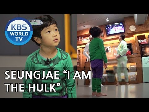 "Seungjae dreams of becoming the ""Hulk"" [The Return of Superman/2019.01.20]"