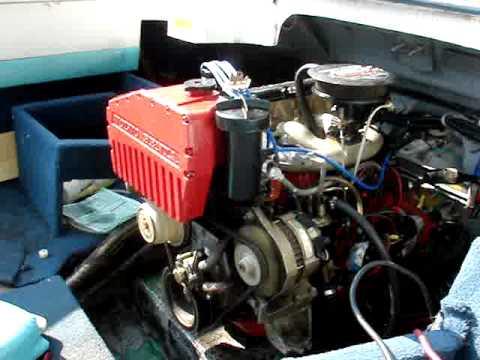 1993 Larson 170 All American w/ Volvo 230b & SP CO stern drive - YouTube