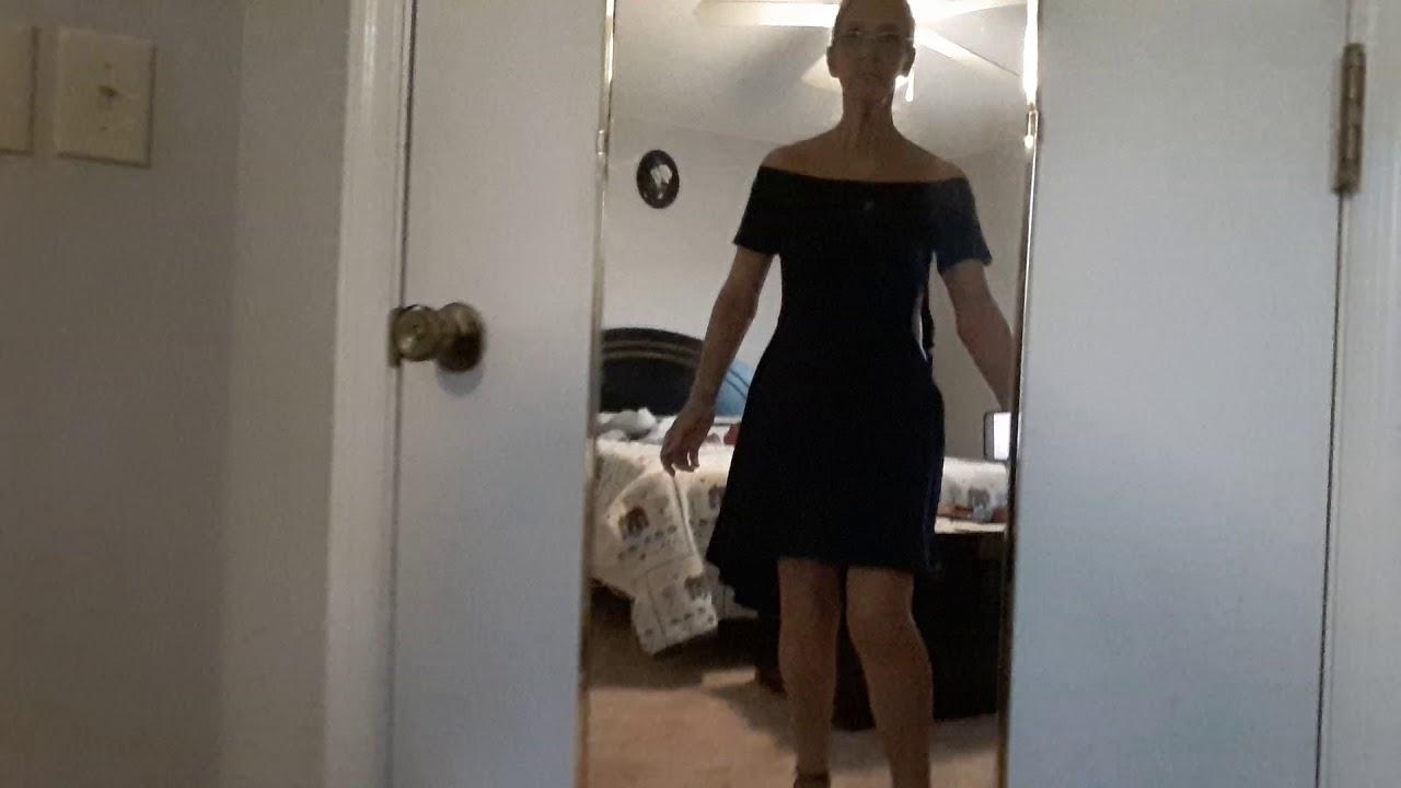 cb6b9d99a Sarin Mathews Women Off the Shoulder Short Sleeve High Low Cocktail ...