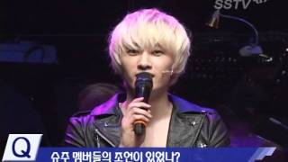 (SSTV) 111107 'FAME' Musical Showcase - Eunhyuk