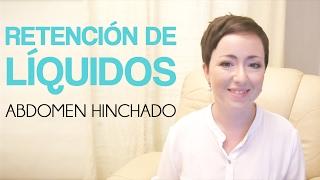 Retención de liquidos - Abdomen hinchado - Eva Garrido - Acu Salud
