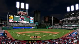 MLB The Show 16 ALCS Game 2 Toronto Blue Jays vs Cleveland Indians 1st Sim CPU