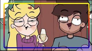 пЬЯНАЯ ИСТОРИЯ со СТАР и МАРКО  от  Moringmark.SVTFOE comics (dub comics)