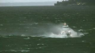 Hydrofoil in Stormy Weather