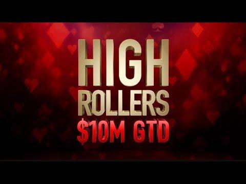 "High Rollers | $10,300 Event #06 with Dario ""Secret_M0d3"" Sammartino - PokerStars"