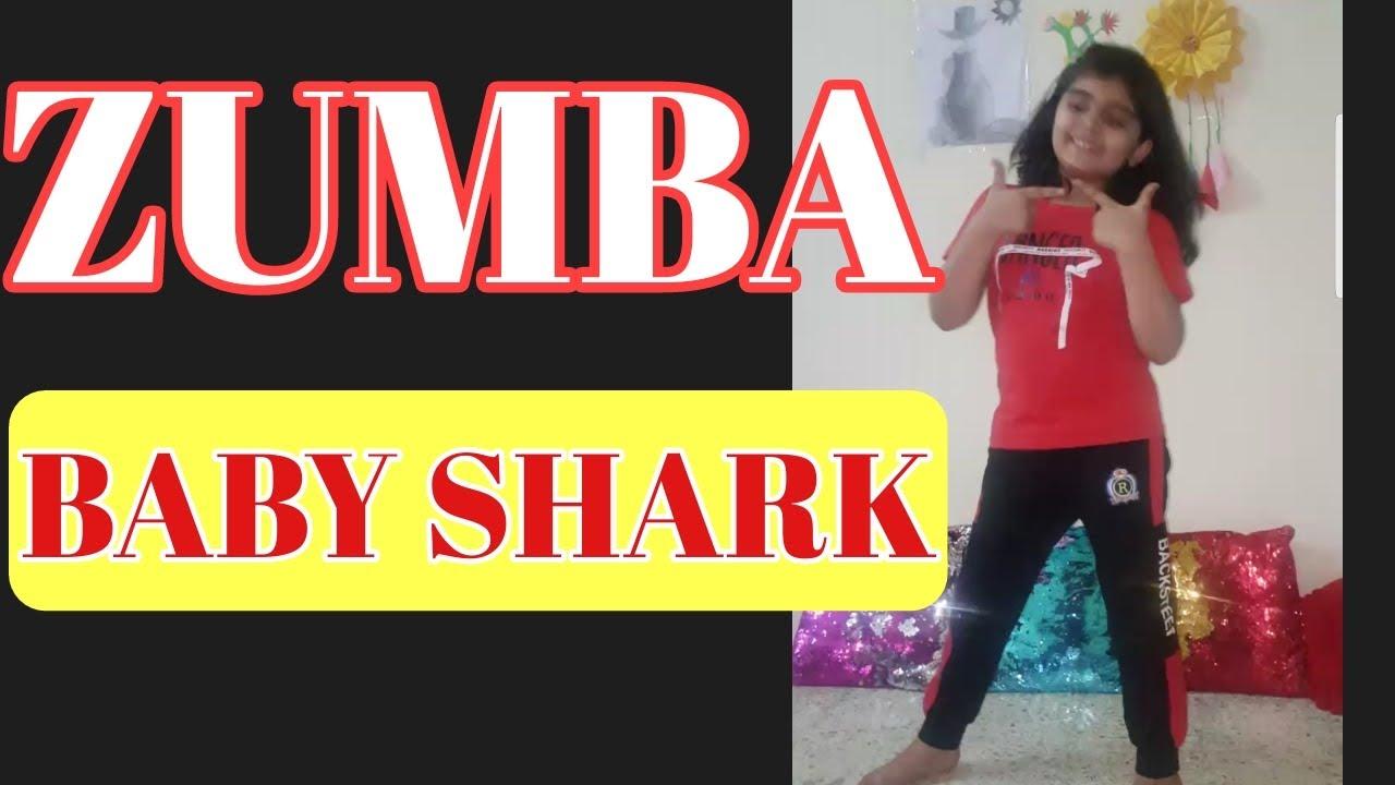 BABY SHARK /EASY ZUMBA KIDS SONG/ ABEERA FAROOQ - YouTube