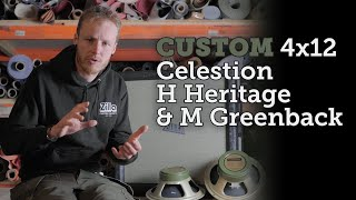 Zilla Cabs - Celestion H Heritage vs M Greenback - Which do you prefer?