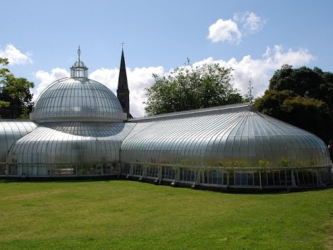 Places to see in ( Glasgow - UK ) Botanic Gardens and Kibble Palace