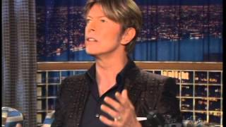 David Bowie - Late Night With Conan O'Brien 19 October 2002
