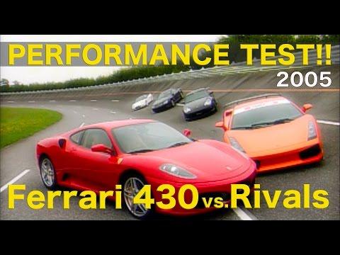 その性能に死角はあるのか!? フェラーリF430 vs.ライバル【Best MOTORing】2005 360モデナから車格も価格も大幅に拡大されたフェラーリF430。果たして新...
