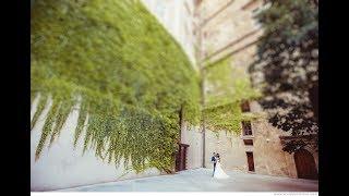 Красивая Свадьба в Праге: Вртбовский Сад. Классическая свадьба за границей