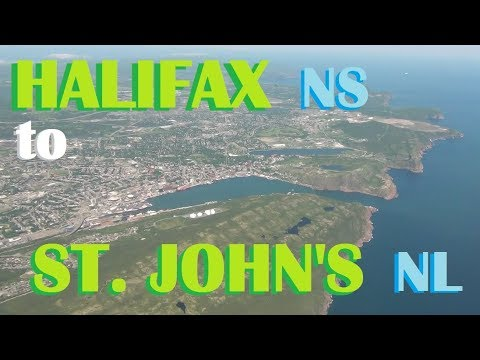 Maritime of My Life (Pt. 68) - Flight from Halifax, NS to St. John's, NL
