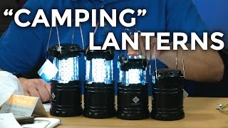 "Etekcity ""Outdoor"" Collapsible ""Camping"" LED Lanterns of Doom"