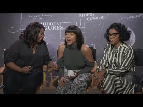 Hidden Figures: Taraji P. Henson, Octavia Spencer & Janelle Monae on who gives the best performance